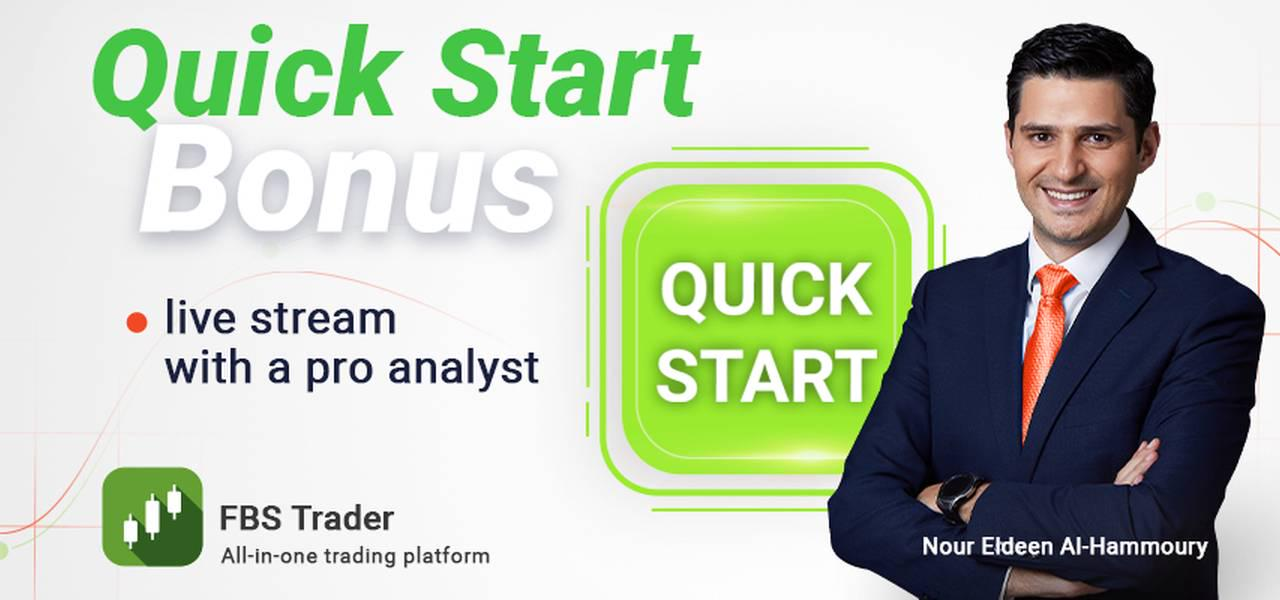 Live streaming bonus Quick Start bersama Nour Eldeen Al-Hammoury
